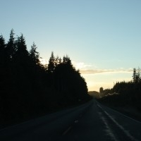 Road to Ocean Shores